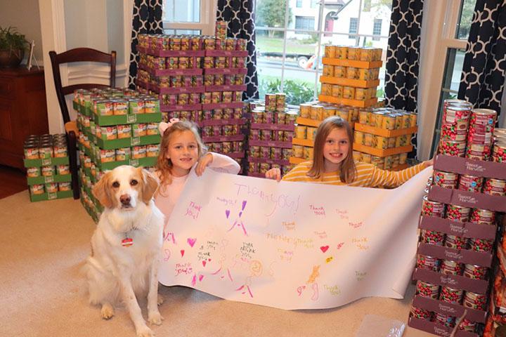 sisters raise money feed homeless thanksgiving