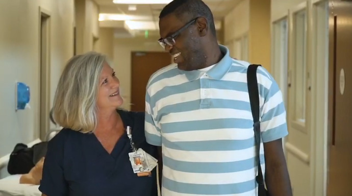 nurse adopts man heart transplant lori wood