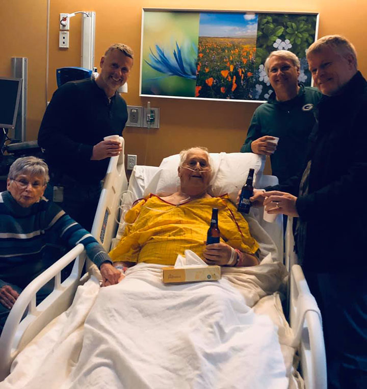 mans dying wish to have one last beer with sons