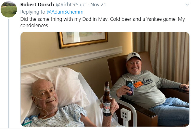 man has dying wish to drink beer with sons