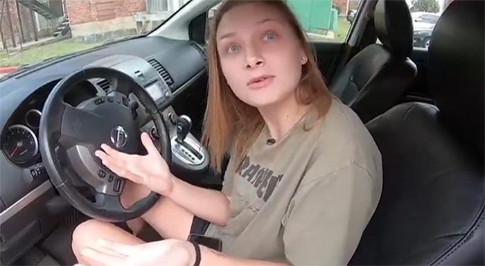couple surprises waitress new car