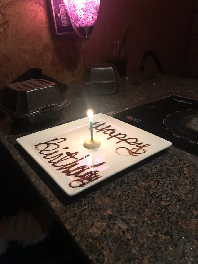 banana slice birthday cake