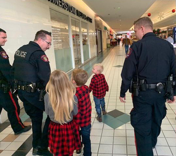 cops arrest grinch calgary