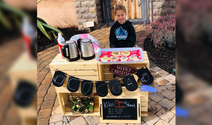 5 year old pays off lunch debts