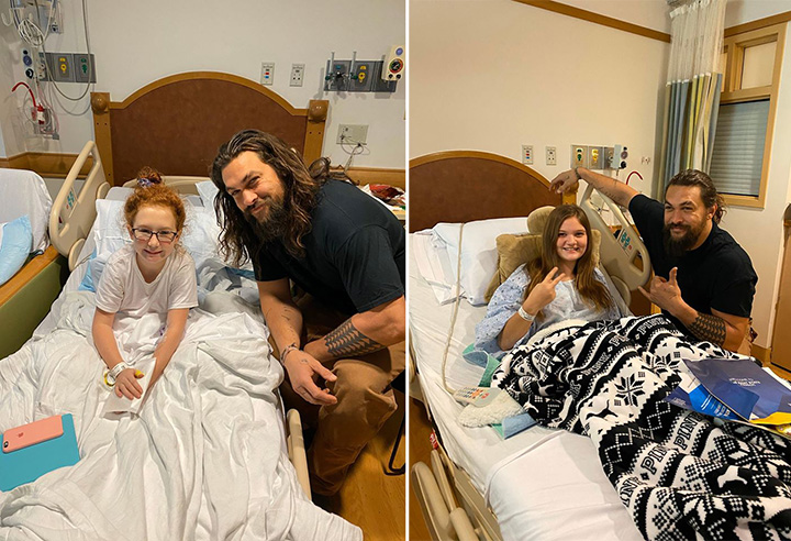 jason momoa chldrens hospital
