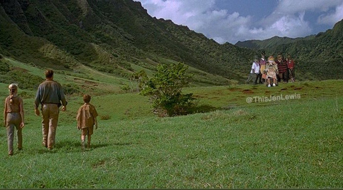 jurassic park replaced 90s dinosaurs show