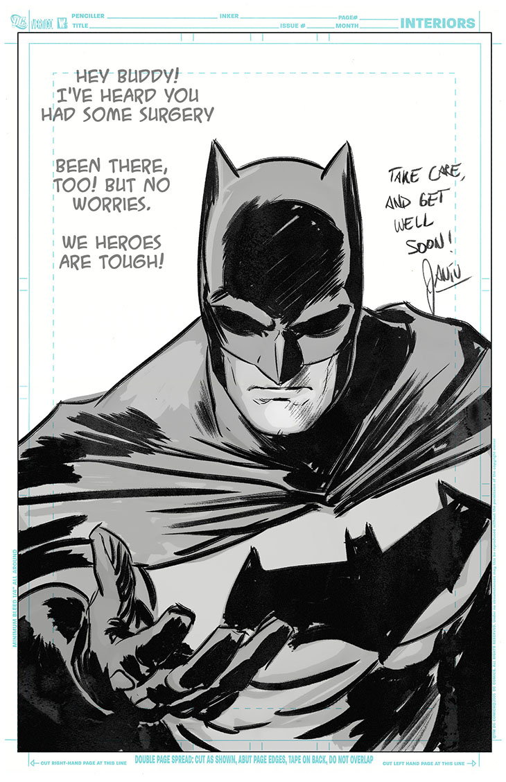 batman artist brain surgery kid