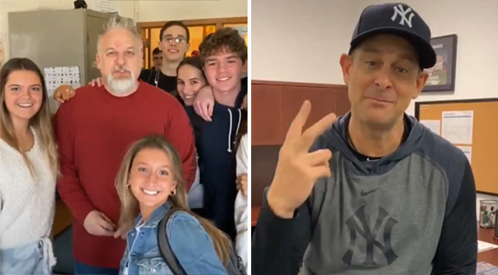 students buy math teacher tickets to yankees game