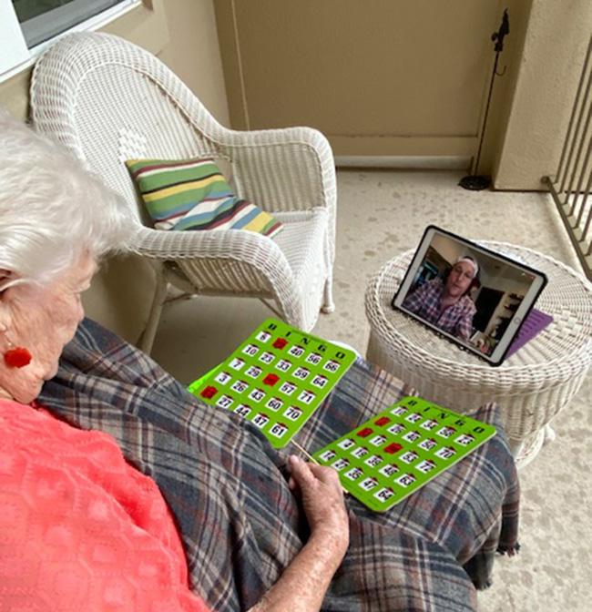 Matthew McConaughey bingo seniors