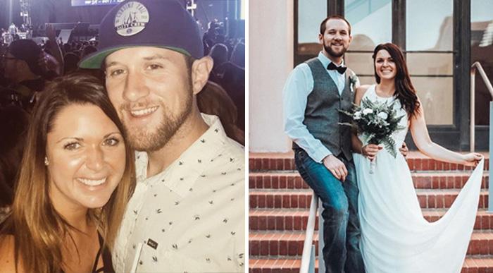 woman and man marry las vegas shooting