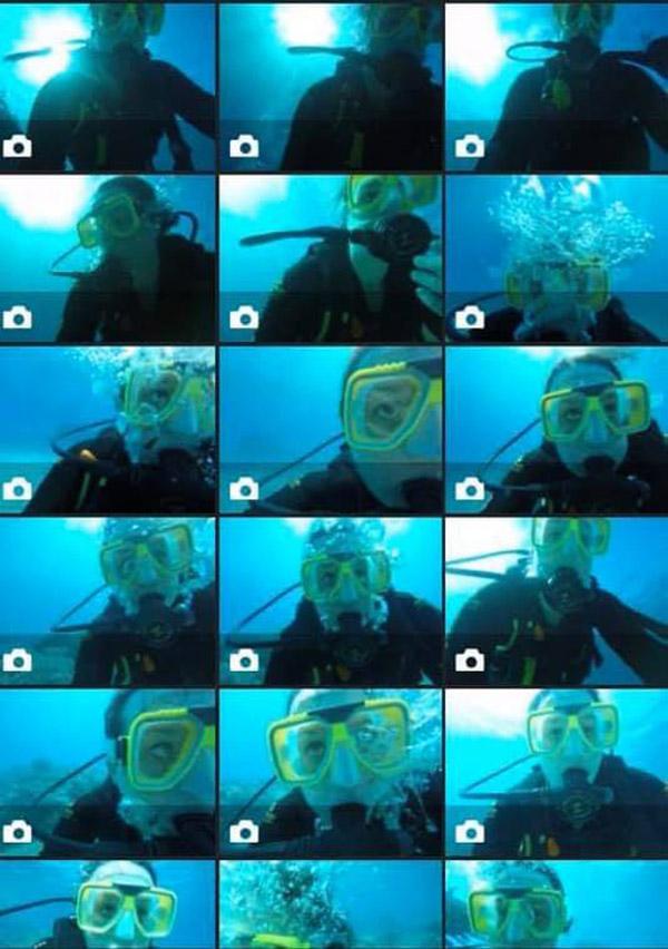 scuba diving fail clown fish