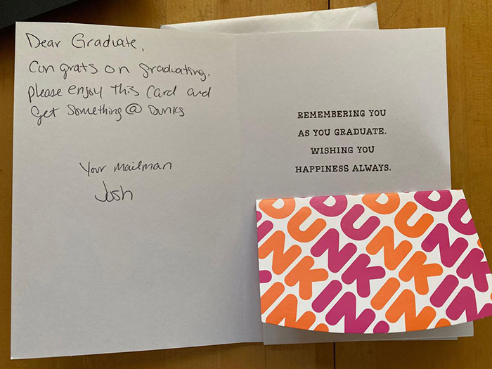 mailman gift cards for graduates