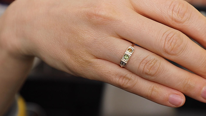 custom mothers day ring birthstones