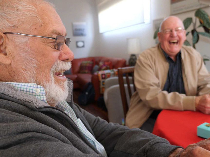 men reunite 70 years later after rescue