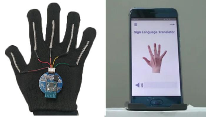 sign languae glove translator