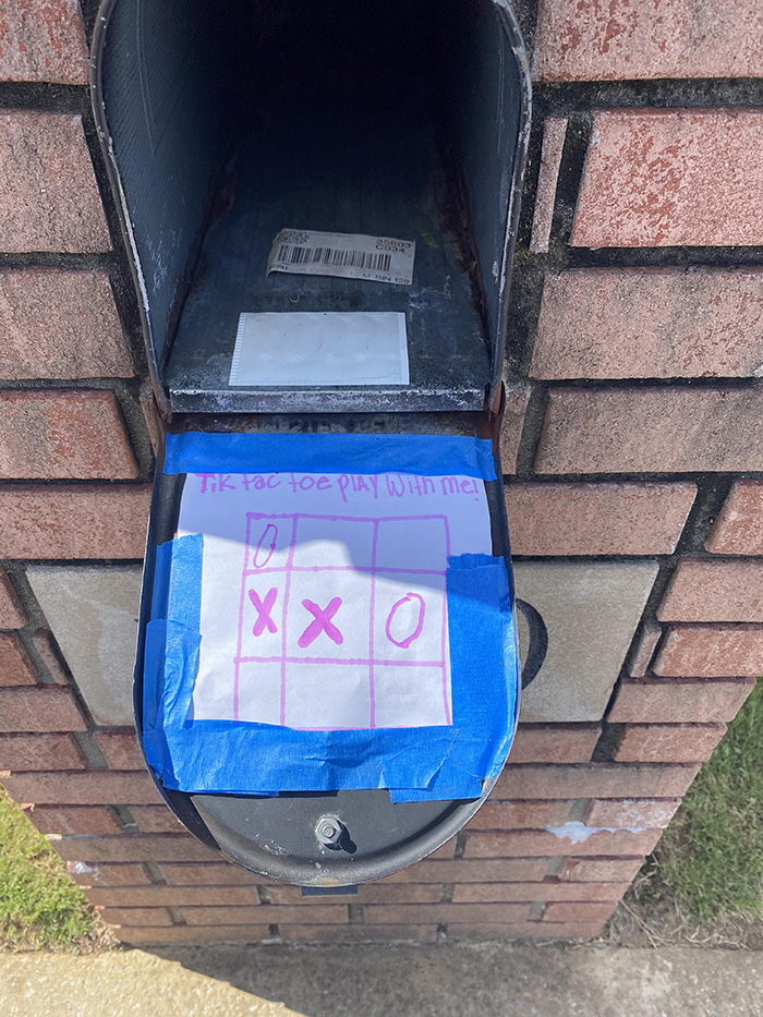 tic tac toe with mailman