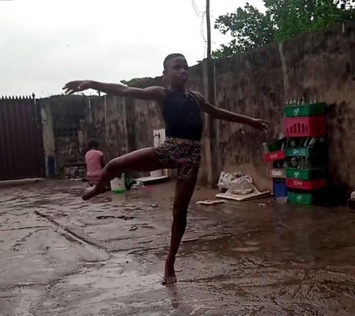 Nigerian boy ballet scholarship