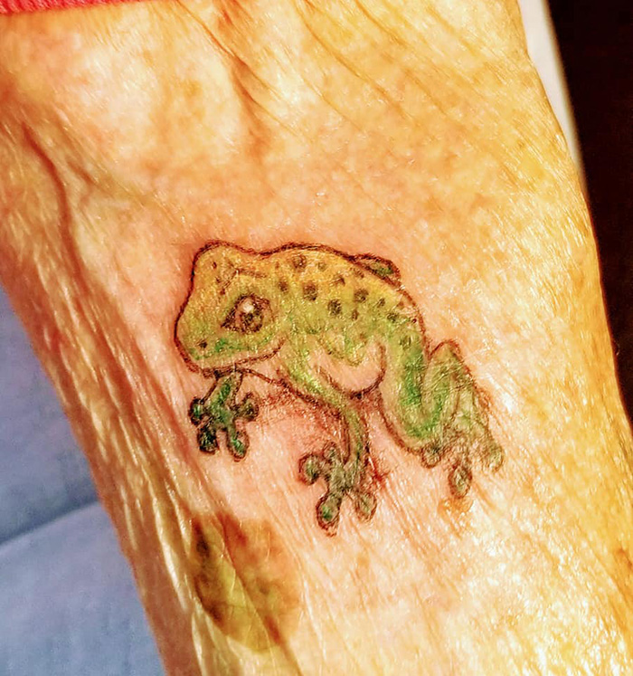 103 year old grandma tattoo