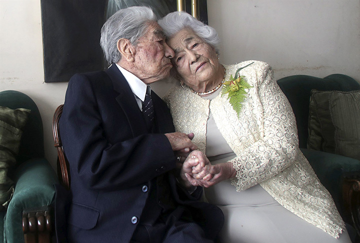 worlds oldest married couple