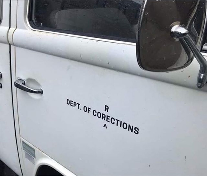 department of corrections funny
