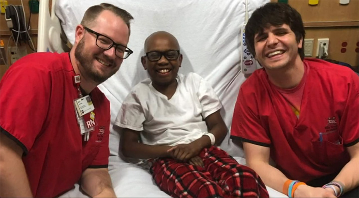 boy cured of sickle cell disease
