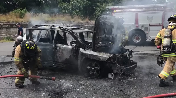 hero teen saves family from burning car