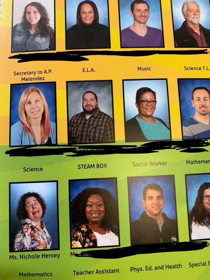 funny yearbook photos of teachers