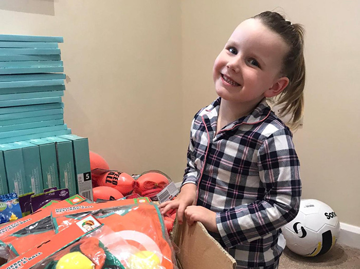 4 year old christmas care packages
