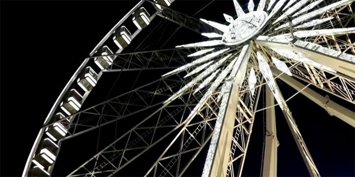 ferris wheel restaurant social distancing