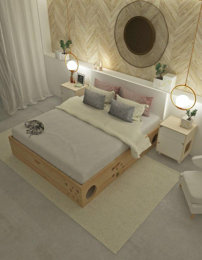 cat bed frame