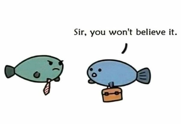 moses fish late joke