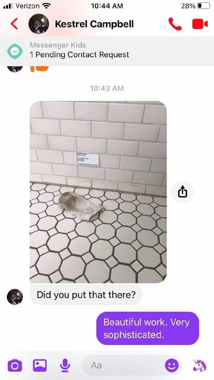 forgotten sock in bathroom