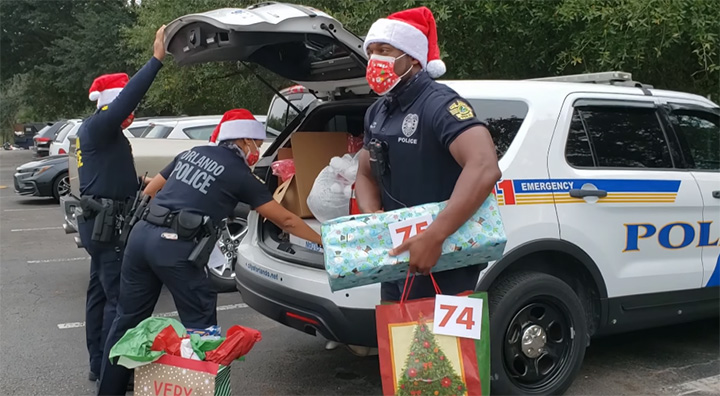 police department christmas gifts