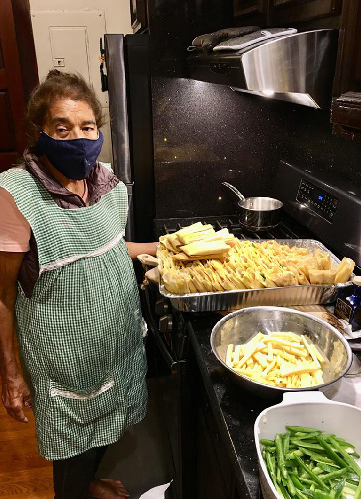 grandmother makes 800 tamales for hospital