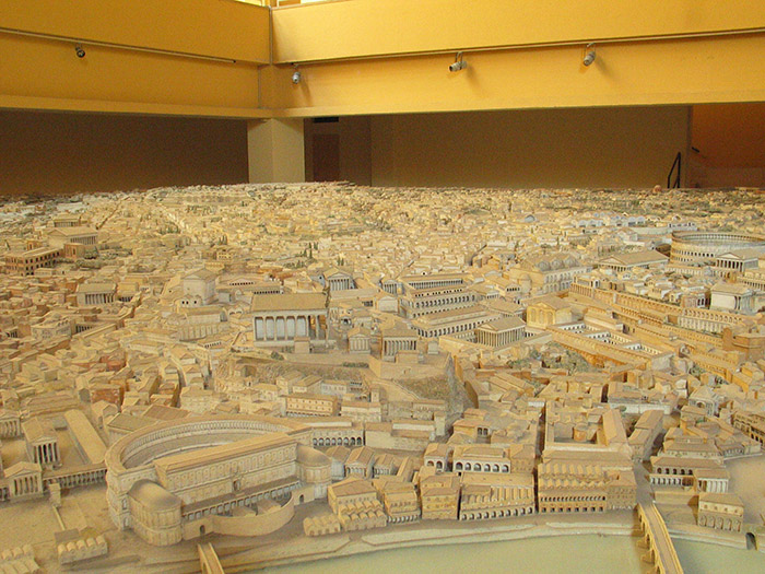model of ancient rome
