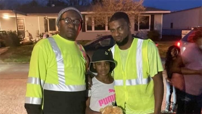 sanitation workers save girl kidnapped