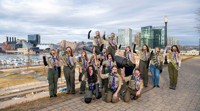 first female eagle scouts