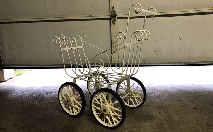 haunted baby carriage