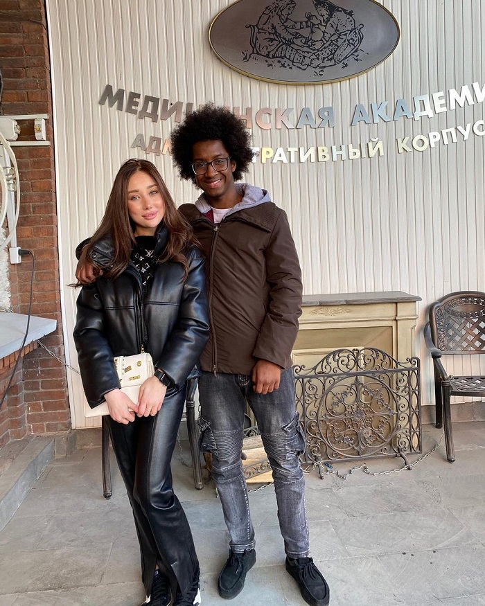 Russians help student whose family died medical school