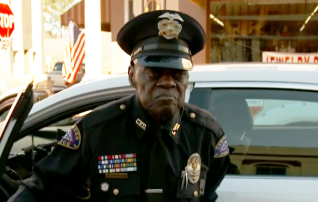 police officer 91 years old