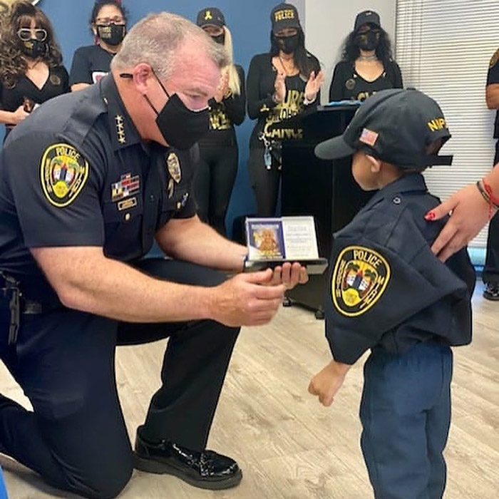 Jeremiah police officer kid Miami