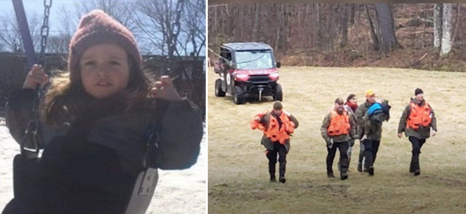 missing 3 year old found in woods
