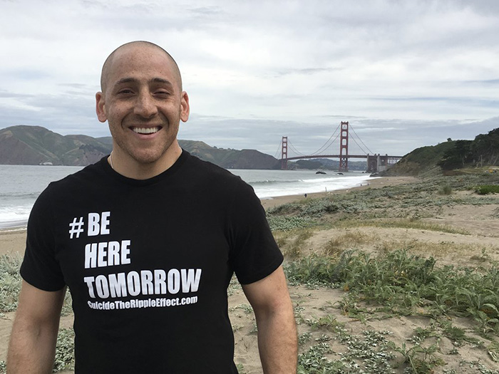 Kevin Hines sea lion