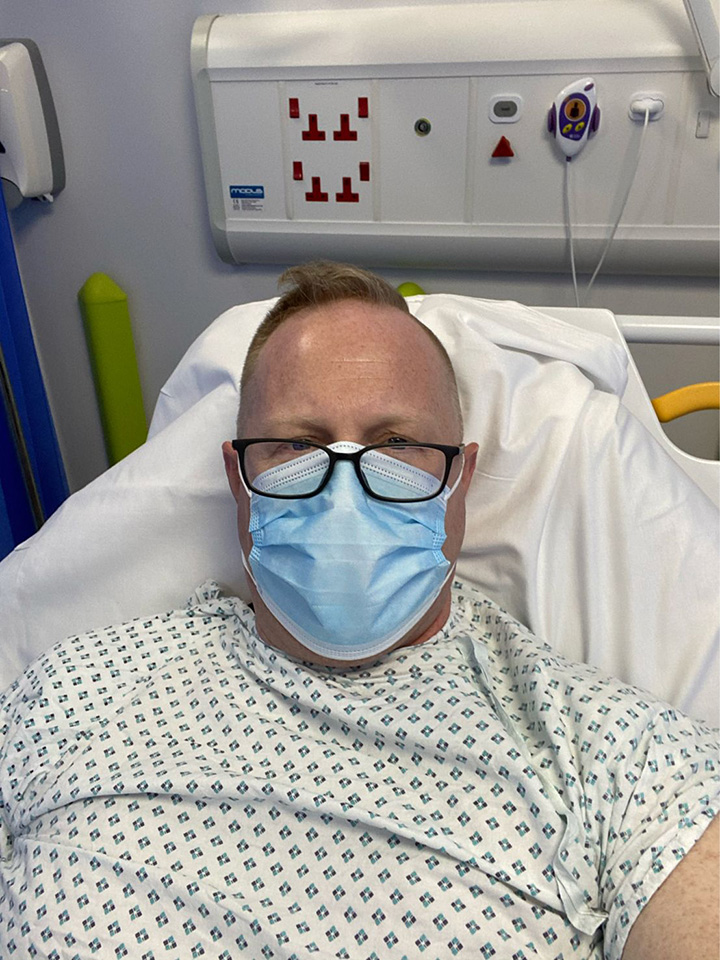 man shares life advice after heart attack