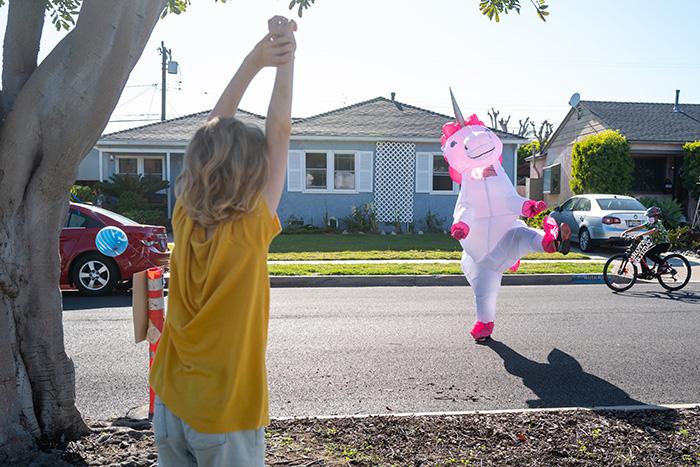 special education teacher unicorn birthday dance