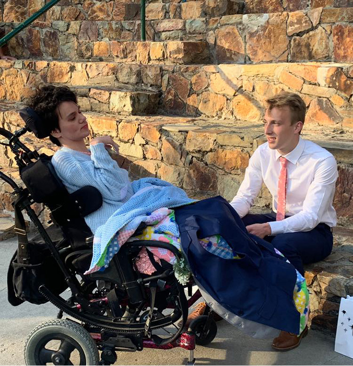 boy takes special needs girl to prom
