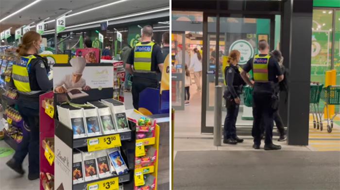 victoria police help homeless