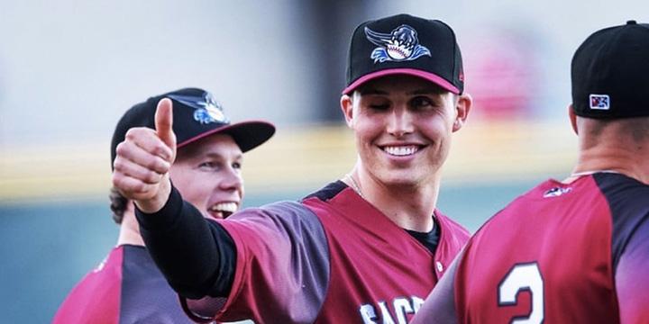Drew Robinson one eye baseball