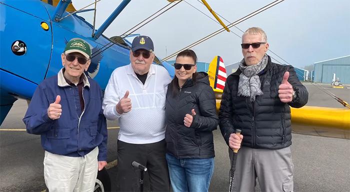 veterans go flying again