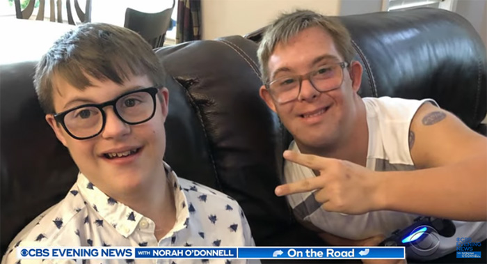 boy down syndrome role model